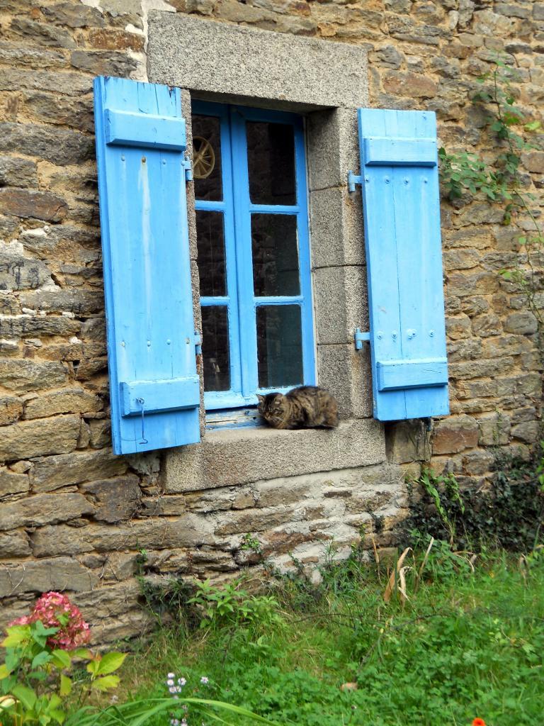 Une fenêtre à Pont-Aven